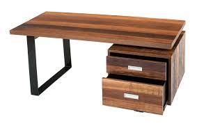 Rustic Wood Office Desk Soft Modern Desk Contemporary Rustic Desk Reclaimed Wood