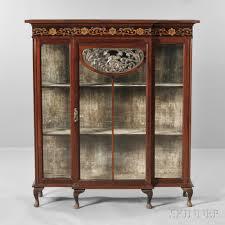 art nouveau china cabinet auction 2888b lot 655 estimate