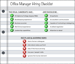 Sample Resume For Administrative Assistant Office Manager by How To Hire The Right Medical Office Manager