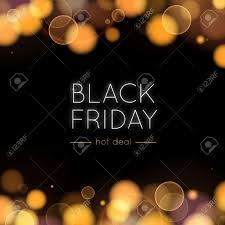 black friday deals on christmas lights black friday sale vector background gold bokeh and lights in