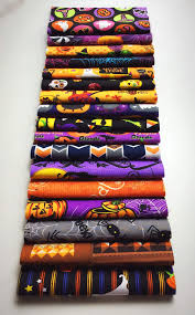 102 halloween themed pre cut charm pack 5 x 5 inches quilt fabric