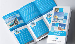 tri fold travel brochure examples renanlopes me