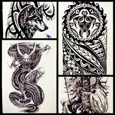 online get cheap chinese dragon tattoo sleeve aliexpress com