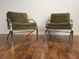 sold paul tuttle arco chairs pair modern to vintage