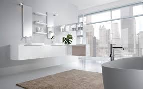 wonderful white grey stainless glass cool design modern bathroom