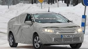 renault megane 2009 sedan renault megane sedan spied winter testing