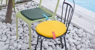 galettes de chaises rondes galette ø40 cm color mix galette ronde de chaise fermob