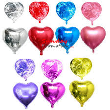balloons wholesale wholesale mylar balloons heart shape for promotional gifts