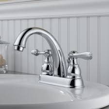 bathroom faucets hole centerset handle delta bathroom faucet in