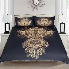 golden owl bedding set 3 pcs spirit gently
