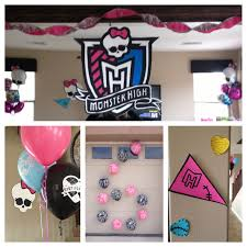 monster high home decor the busy broad monster high party decorations