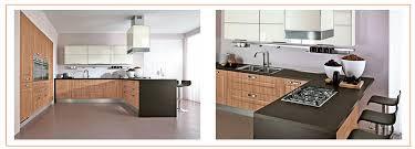 Long Lifetime Wooden Color Pvc Membrane Kitchen Cabinet Low Price - Kitchen cabinets low price