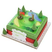 golf gift cake childrens gift cakes the brilliant bakers