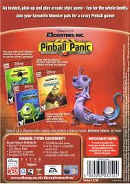 disney u2022pixar u0027s monsters pinball panic mini game 2002