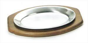 sizzle platter browne halco steak plate 562dc atlanta fixture for sizzle platters