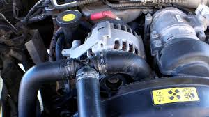 how to change land rover thermostat and coolant youtube