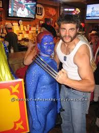 100 mystique men halloween costume homemade mystique