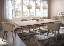 table de cuisine contemporaine jc perreault salle à manger contemporaine jcp table adam
