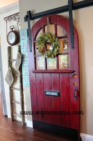 Distressed Barn Door by Best 20 Red Distressed Furniture Ideas On Pinterest Distressed
