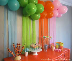 best birthday party unique party decorations at home home design