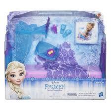 Frozen Bedroom Set Full Amazon Com Disney Frozen Icicle Canopy Bed Set Toys U0026 Games