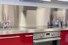 commercial kitchen backsplash kitchen how to create the many of stainless metal backsplashes