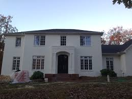 benjamin moore gray owl painted brick house you better believe