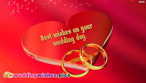 best wishes for wedding best wishes on your wedding day weddingwishes pics