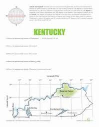 latitude and longitude worksheets google search maps