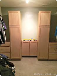 30 Wide Pantry Cabinet Storage In The Closet From Thrifty Decor