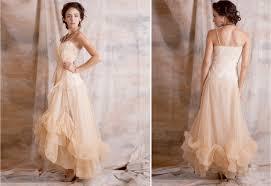 white dahlia wedding gown vintage style romantic lace ivory