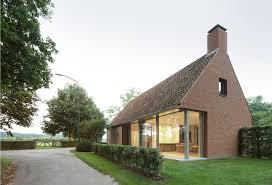 modern brick house a rural modern house added on to a classic barn design milk