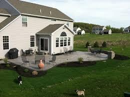 Backyard Cement Patio Ideas Best 25 Concrete Patios Ideas On Pinterest Concrete Patio