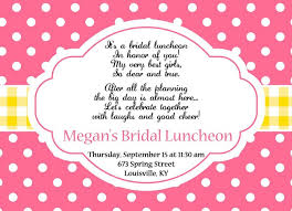 bridesmaids luncheon invitation wording excellent luncheon invitation ideas 5 image invitation awesome