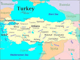 istanbul turkey map the service offers a detailed map of the country that includes