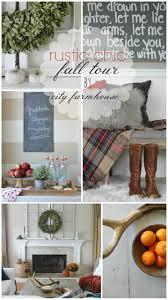 Farmhouse Com Rustic Chic Fall Tour City Farmhouse