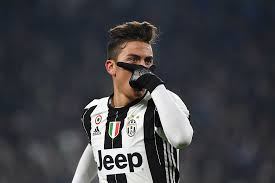 juventus paulo dybala explains meaning gladiator mask