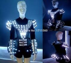 Tron Halloween Costume Light Up by Suit With Lights Promotion Shop For Promotional Suit With Lights