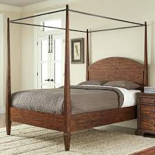 canopy metal bed frames for an elegant slim look a wrought iron