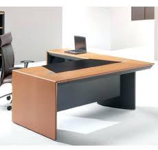 bureau ameublement meuble de bureau bureau de direction orrion finition merisier en