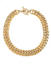 curb necklace images Large gold curb chain necklace tilly sveaas jewellery jpg