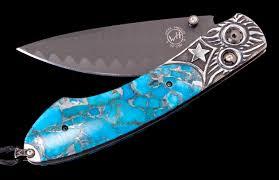 spearpoint atlas luxury pocket knife william henry