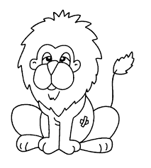 cute lions colouring pages 3 clip art library
