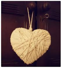 how to make handmade home decor how to make a string heart charm decoration u2026 handmade