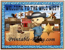 Cowboy Western Theme Party Decorations