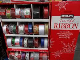 wire edged ribbon vitadigest kirkland signature wire edged ribbon 50 yards 45 7