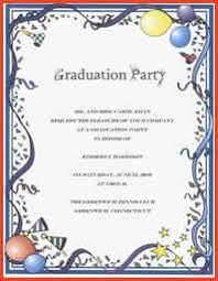 graduation party invitation wording graduation invitation wording proposalsheet