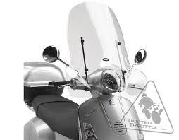 givi 104a windscreen for vespa lx 50 lx 125 u0026 lx 150 u002705 u002714 125