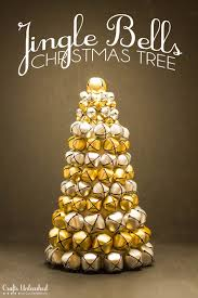 diy decor jingle bell tree crafts unleashed jingle