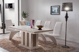 White Marble Dining Tables Furniture Charming Modern Black And White Color Dining Chairs